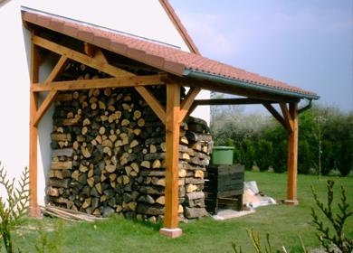 charpente bois decorative